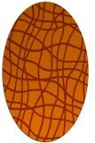 rug #218954   oval check rug