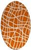 rug #218966 | oval check rug