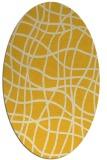 rug #218986   oval check rug