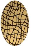 rug #218995 | oval check rug