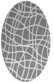 rug #218999   oval stripes rug