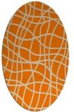 rug #219014 | oval stripes rug