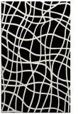 rug #219053 |  white stripes rug
