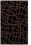 rug #219065 |  brown check rug