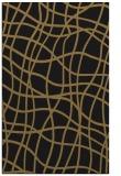 rug #219069 |  black check rug