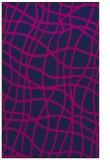 rug #219077 |  blue check rug