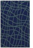 rug #219081 |  blue check rug