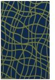 rug #219085 |  blue check rug