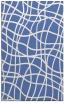 rug #219089 |  blue check rug