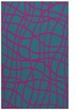 rug #219113 |  pink check rug