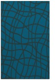 rug #219129 |  blue check rug