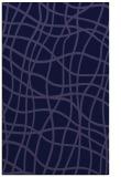 rug #219133 |  blue-violet check rug
