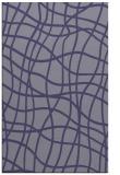 rug #219137 |  blue-violet stripes rug