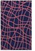 rug #219141 |  pink check rug