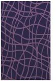 rug #219145 |  blue-violet check rug