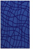 rug #219153    blue-violet check rug