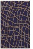 rug #219157 |  blue-violet check rug