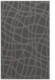 rug #219197 |  mid-brown check rug
