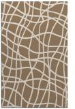 rug #219201 |  mid-brown check rug