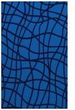 rug #219217 |  blue check rug