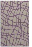 rug #219229 |  purple check rug