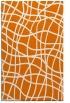 rug #219241 |  orange stripes rug