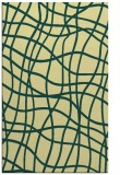 rug #219253 |  yellow check rug
