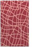 rug #219265 |  pink check rug
