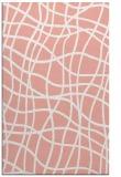 rug #219269 |  pink check rug