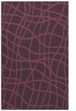 rug #219273 |  purple check rug