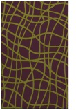 rug #219277 |  purple check rug