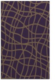 rug #219281 |  purple check rug