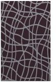rug #219285    purple check rug
