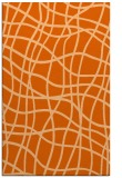 rug #219309 |  red-orange check rug