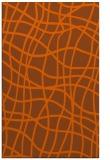 rug #219313 |  red-orange check rug