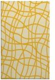 rug #219337 |  yellow check rug