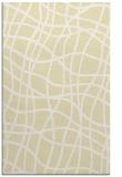 rug #219341 |  yellow check rug