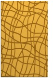 rug #219353 |  light-orange check rug