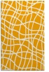 rug #219385 |  light-orange check rug