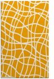 rug #219385    light-orange check rug