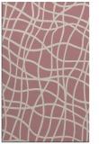 rug #219389    pink stripes rug