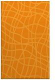 rug #219393    light-orange check rug