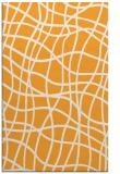 rug #219397 |  light-orange check rug
