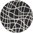 rug #219407   round check rug