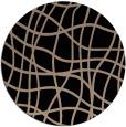 rug #219413 | round beige check rug