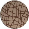 rug #219419 | round check rug