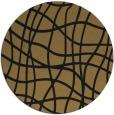 rug #219422 | round check rug