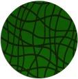 rug #219469 | round green check rug