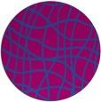 rug #219504 | round check rug
