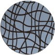 rug #219516 | round check rug